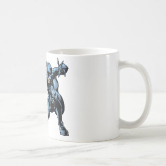 Catwoman crouches coffee mug