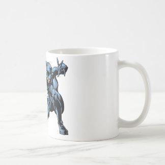 Catwoman crouches coffee mug
