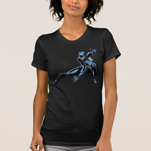 Catwoman crouches tees