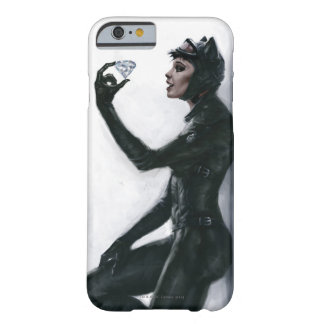 Catwoman Illustration Barely There iPhone 6 Case