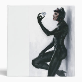 Catwoman Illustration Binder