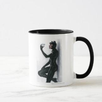 Catwoman Illustration Mug