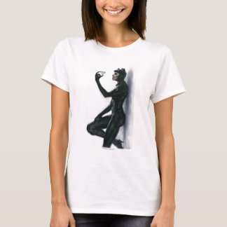Catwoman Illustration T-Shirt