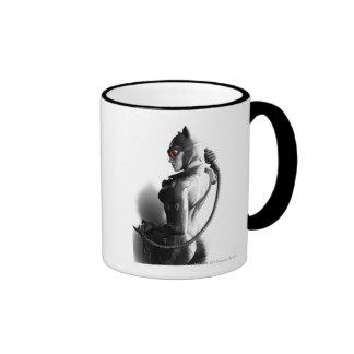 Catwoman Key Art Ringer Mug