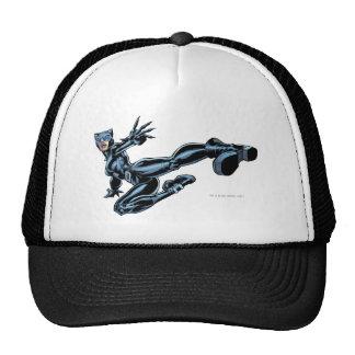 Catwoman kicks trucker hat