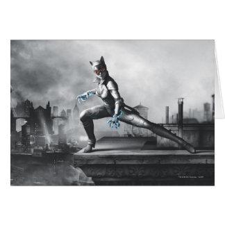 Catwoman - Lightning Card