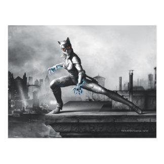 Catwoman - Lightning Postcard