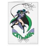 Catwoman & Logo Green Card