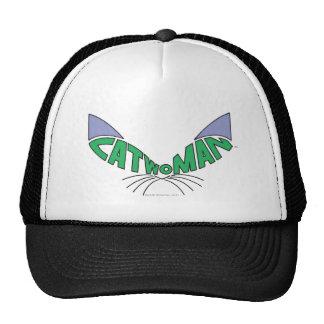 Catwoman Logo Green Trucker Hat