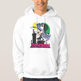 Catwoman & Logo Pink Hoodie