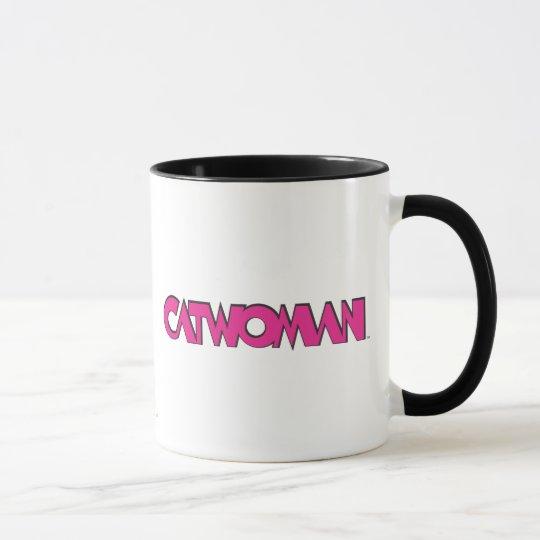 Catwoman Logo Pink Mug