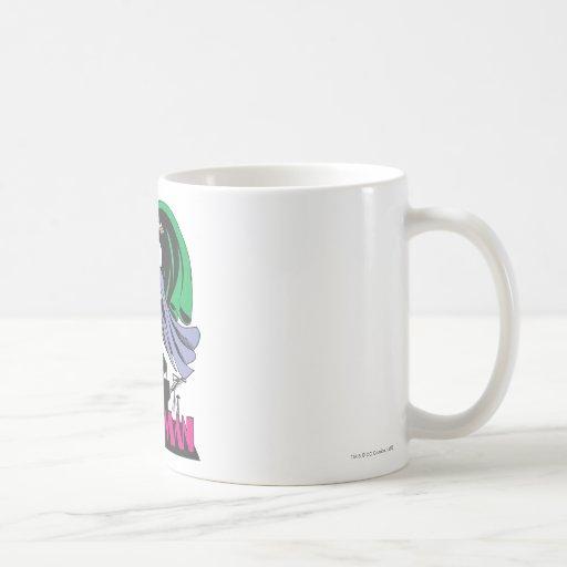 Catwoman & Logo Pink Mug