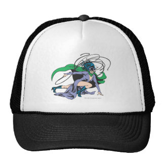 Catwoman Lunges Trucker Hat