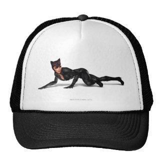 Catwoman Lurking Trucker Hat
