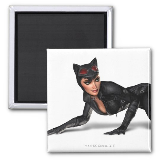 Catwoman Lurking Magnet