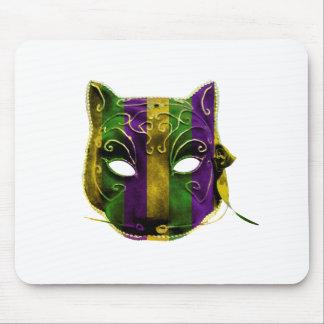 Catwoman Mardi Gras Mask Mouse Pad
