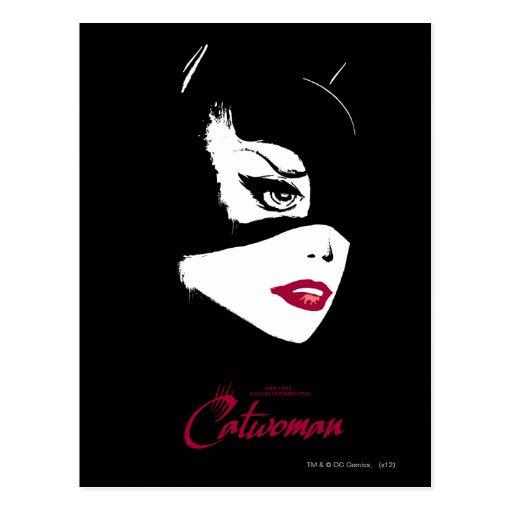 Catwoman Nine Lives Postcard