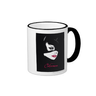 Catwoman Nine Lives Ringer Mug