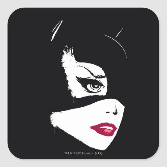 Catwoman Nine Lives Square Sticker