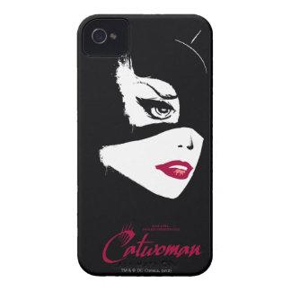 Catwoman nueve vidas iPhone 4 Case-Mate cobertura