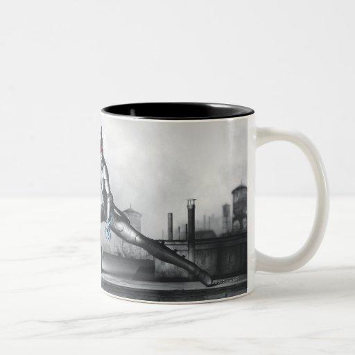 Catwoman - relámpago taza de café