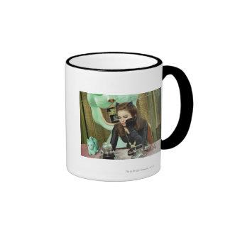 Catwoman Ringer Mug