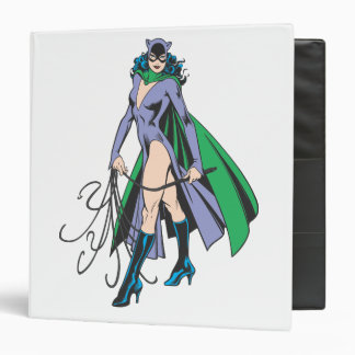 Catwoman Stands Binder