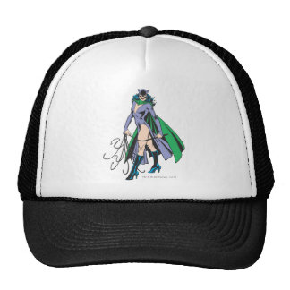 Catwoman Stands Trucker Hat