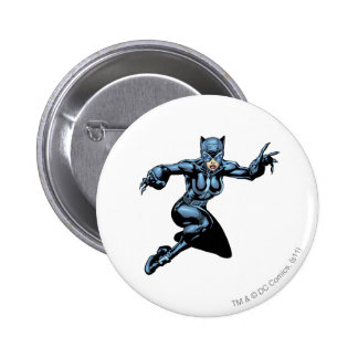 Catwoman with Claws Button