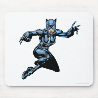 Catwoman with Claws Mouse Pad