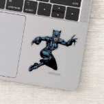 Catwoman with Claws Sticker