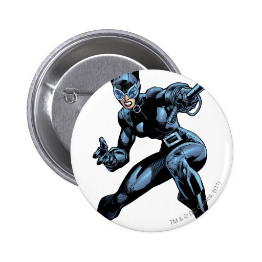 Catwoman with Whip Button