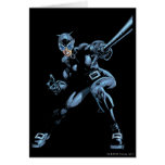 Catwoman with Whip Greeting Card