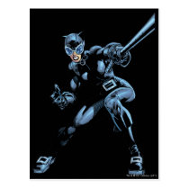 Catwoman with Whip Postcard