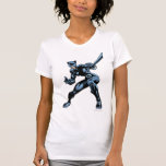 Catwoman with Whip Shirt