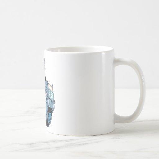 Catwoman y bici taza de café