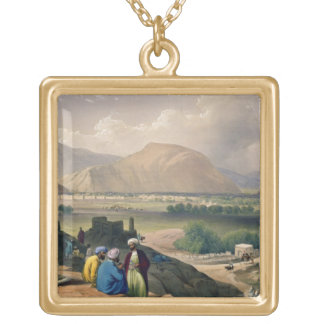 Caubul, from a Burying Ground on the Mountain Ridg Gold Plated Necklace