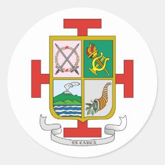 Cauca, Columbia Round Stickers