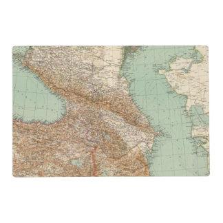 Caucasia 7374, Caspian Sea Laminated Place Mat