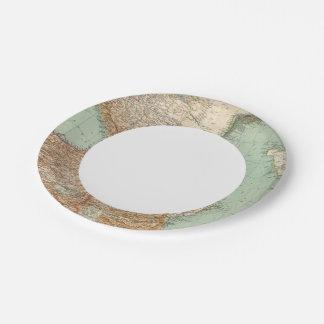 Caucasia 7374, Caspian Sea Paper Plate