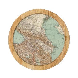 Caucasia 7374, Caspian Sea Round Cheese Board