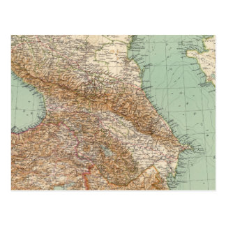 Caucasia 7374, Caspian Sea Postcard