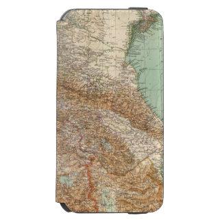 Caucasia 7374, mar Caspio Funda Billetera Para iPhone 6 Watson