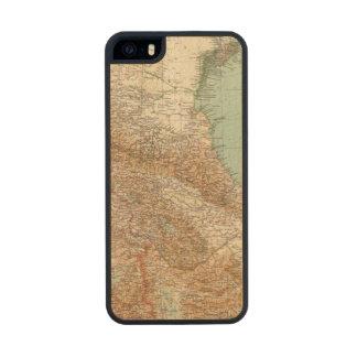 Caucasia 7374, mar Caspio Funda De Arce Carved® Para iPhone 5