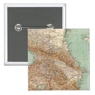 Caucasia 7374, mar Caspio Pin Cuadrada 5 Cm