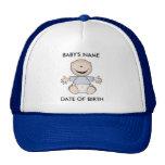 Caucasian Boy Newborn Hat