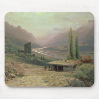 Caucasian Canyon, 1893 Mouse Pad