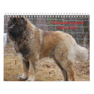 Caucasian Legend Farm Calendars