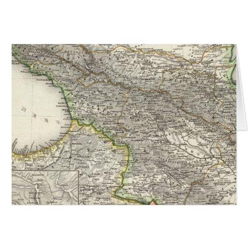 Caucasus Greeting Card
