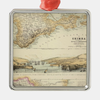 Caucausus and Crimea Metal Ornament